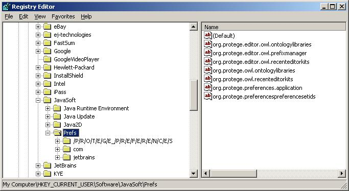 ClearingP4Preferences - Protege Wiki